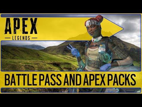 💥APEX BATTLE PASS & PACKS DETAILS💥 Apex Legends Year 1 Roadmap