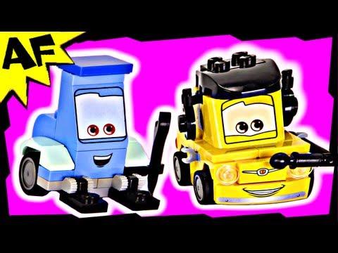 Vidéo LEGO Cars 8206 : Tokyo Pit Stop