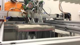Создан рабочий прототип 3D принтера