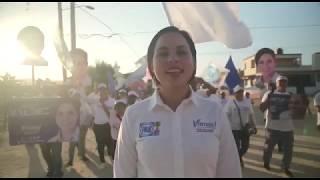 Michelle Valdez candidata a diputada local por el Distrito VIII