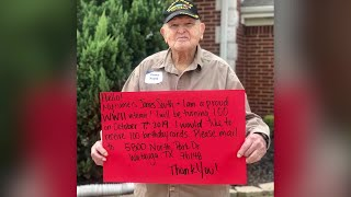 WWII veteran wants 100 birthday cards for his 100th birthday