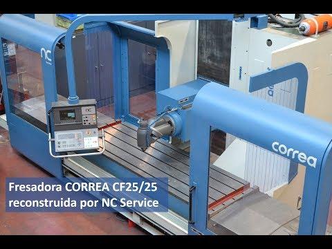 Fresadora CORREA CF25/25 reconstruida por NC Service