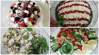 5 Самых Вкусных Быстрых Салатов! Рецепты салатов/Салаты/   [УЗБЕКСКАЯ КУХНЯ]