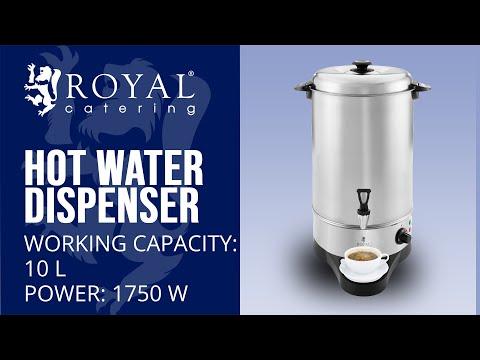 Waterkoker 10 liter opvangschaal