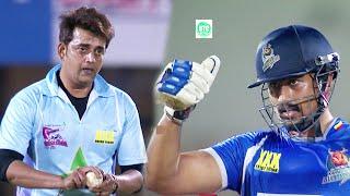 Ravi Kishan Super Bowling Challenges Karnataka Bulldozers