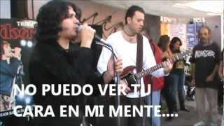 I CAN´T SEE YOUR FACE IN MY MIND THE DOORS TRIBUTO GRUPO THE END CHOPO