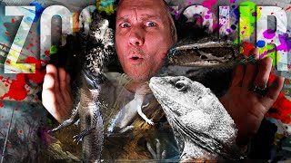 COMPLETE CAGE by CAGE TOUR OF MY REPTILE ZOO!! | BRIAN BARCZYK