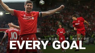 Every Steven Gerrard Goal for Liverpool   Cup Final screamers, Istanbul and more