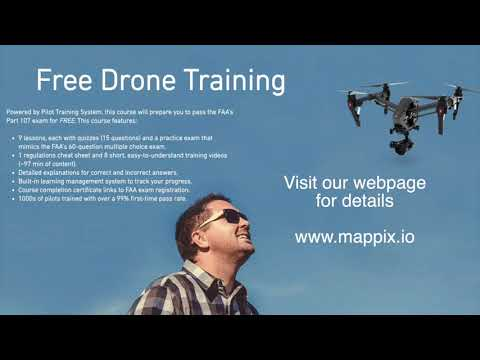 FREE Drone Training / FAR Part 107 RPIC Certification - YouTube