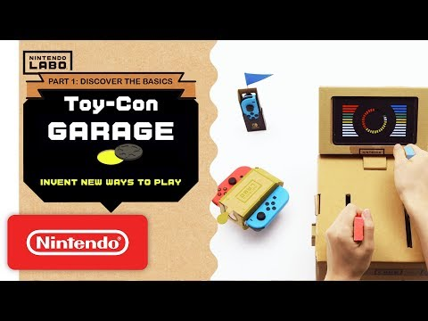 Nintendo Labo - Invent New Ways To Play With Toy-Con Garage - Part 1