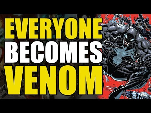 Everyone Becomes Venom! (Marvel Comics: Venomverse)