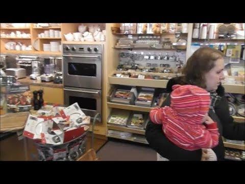11-20-17 Kitchenwares Store and Sharing Ice Cream