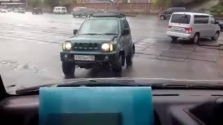 DEITA.RU Необычный способ езды во Владивостоке