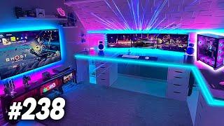 Room Tour Project 238  - BEST Desk & Gaming Setups!