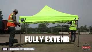 How to Assemble a Shax® Portable Work Shelter