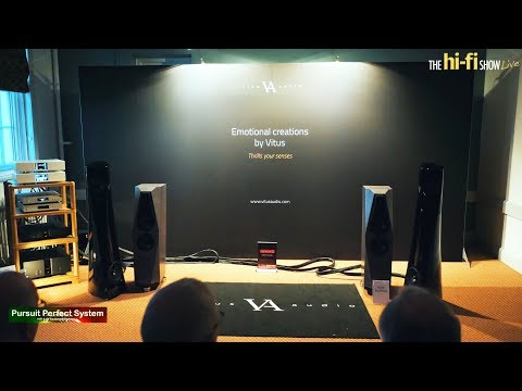 Avalon Acoustics PM1 Vitus Audio Tellurium Q Statement MELCO Alluxity @ The hi-fi Show Live 2018