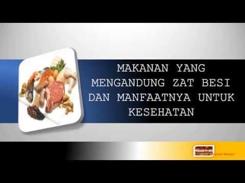 Video Makanan Yang Mengandung Zat Besi Dan Manfaatnya Untuk Kesehatan