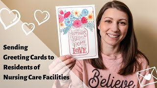 Sending Greeting Cards to Residents of Local Nursing Care Facilities