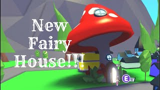 FAIRY HOUSE (Roblox Adopt Me) Mushroom House, Fairy Furnitures | Its SugarCoffee