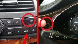 Hidden Function. Enter Service Menu on Mercedes W211, W219 / Hidden Function REST on W211, W219