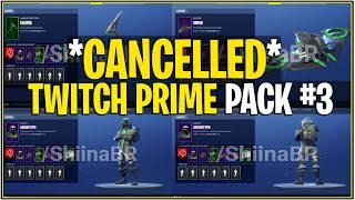 Fortnite Twitch Prime Pack 3 Cancelled 免费在线视频最佳电影电视