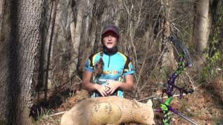 Tournament archery types with Reagan Bryan