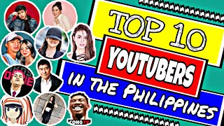 TOP 10 YOUTUBERS IN THE PHILIPPINES (JUNE 2020)   MOST SUBSCRIBED FILIPINO YOUTUBE CHANNEL