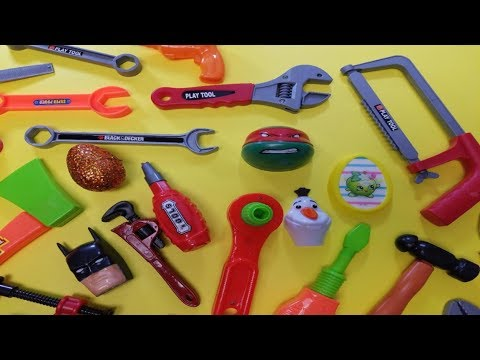 Kids tool bench educational videos for kids plastic toy tool set