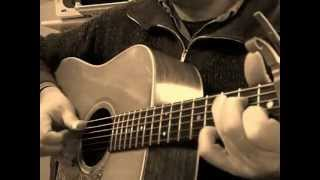THE BANKS OF THE OHIO (Trad.) Finger-pick. arrgt Doc Watson Cover Lelong