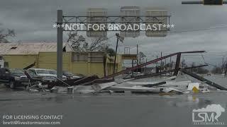 10-10-18 Panama City, FL - Hurricane Michael Causes Catastrophic Damage.mp4