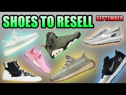 Most Hyped Sneaker Releases September 2019 | Sneakers To Resell September 2019