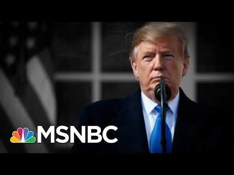 Trump Declares A National Emergency, Then Says He Didn't Need To Declare It | The 11th Hour | MSNBC