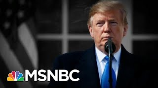 Trump Declares A National Emergency, Then Says He Didn