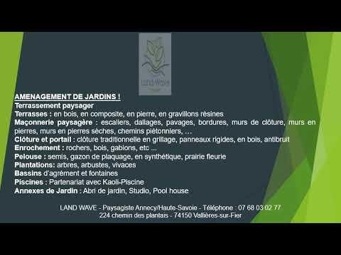 Travaux d'élagage à Annecy-le-Vieux avec Land Wave