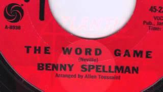 The Word Game - Benny Spellman
