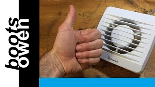 How to repair an extractor fan that spins slowly: Oiling an Xpelair Fan