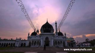 preview picture of video 'Masjid Zahir Sunset Time Lapse'