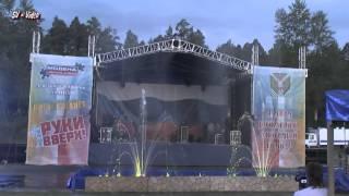 Поющие фонтаны в Асбесте день города 29 06 2013