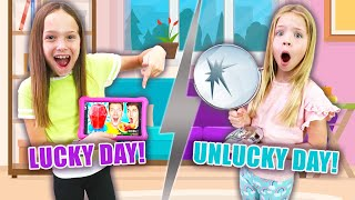 It's Addy's LUCKY Day !!! (Collins Key Mystery Challenge Wheel Game)