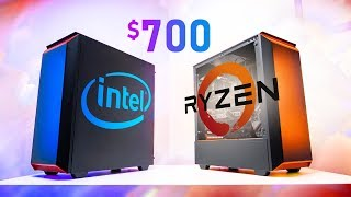The $700 Gaming PC Battle - AMD vs Intel