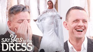 Entourage Laughs At Brides Wedding Dress Cape | Say Yes To The Dress UK