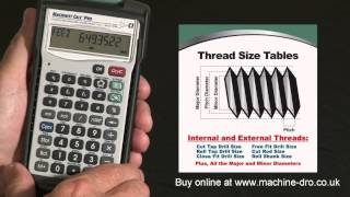 Engineers Calculator – Advanced Machining Math and Reference Tool