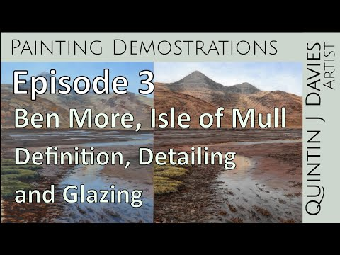 Thumbnail of Episode 3: Ben More - Landscape Painting Demonstration - Definition, Detailing and Glazing