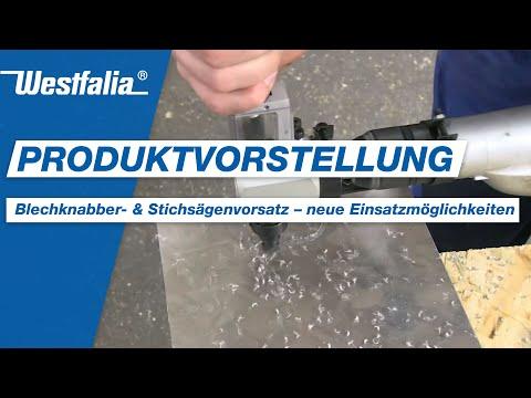 Westfalia Blechknabber- und Stichsägen Vorsatz