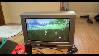How to Connect Nintendo Switch to old TV with SCART (quick version)