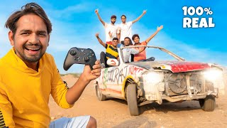 We Made Real Remote Controlled Car - सपना सच हो गया 😎 - Download this Video in MP3, M4A, WEBM, MP4, 3GP