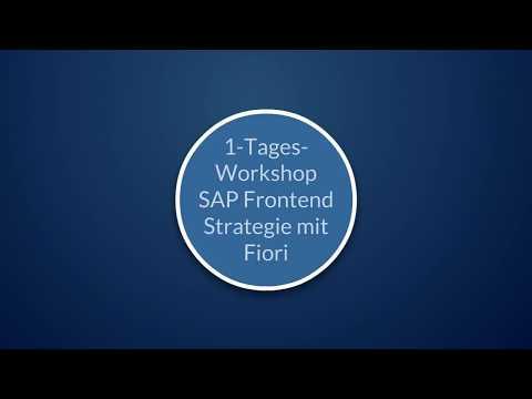 Frontend Strategie mit SAP Fiori