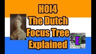hoi4 man the guns netherlands focus tree - Thủ thuật máy