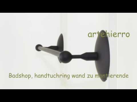 Badshop, handtuchring wand zu montierende für rustikale Häuser