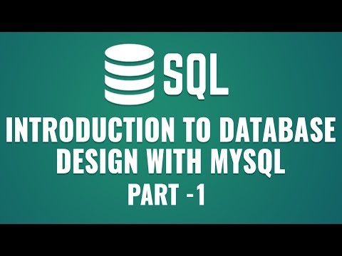 Learn Database Design with MySQL | Introduction to Database and MySQL | Part 1